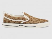 Gucci 643489 2HK30 9761 GG Denim系列 Tennis 1977系列 便鞋