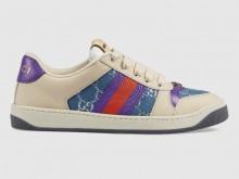 Gucci 577684 Screener系列 织带运动鞋