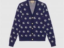Gucci 660285 XKBVB 4594 GG针织棉质提花开衫