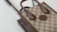 包包分享|GUCCI 671623 复古老花新品包