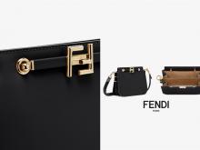 又一黑马上场:Fendi Touch 风琴手袋散发着复古优雅的魅力!