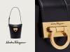 一份精致的高贵优雅:Ferragamo 全新 Trifolio 水桶袋强势登场