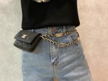 Chanel AP2401 2021秋冬最最好看的腰包!花样上身图