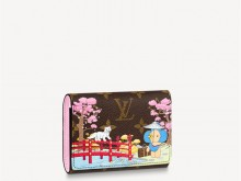 LV M80873 N60478 2021圣诞款 VICTORINE 钱夹