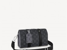 LV M45936 黑花 CITY KEEPALL 手袋