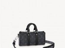 LV M45947 黑花 KEEPALL XS 手袋